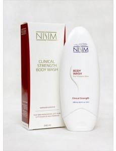 Nisim Body Wash - 240 ml skonsam & läkande body wash för problemhud (som torr hud vid eksem, dermatit & psoriasis)