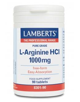 L-arginin 1000mg tillskott tabletter (arginintabletter) arginin kosttillskott