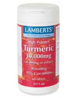 GURKMEJA 10000 mg tabletter (Curcumin kosttillskott) (60 tabletter)