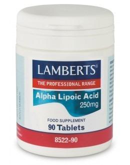 Alfa Liponsyra 300mg (antioxidant kosttillksott) (90 tabletter)