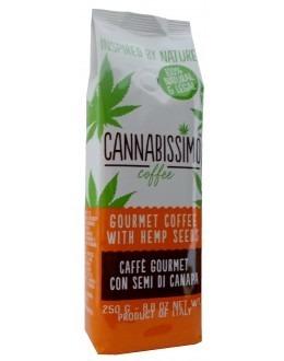 Cannabissimo 250gram - gourmetkaffe med hampafrön (brygg) - 100% Naturligt – 100% Lagligt!