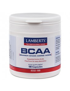 BCAA (Branch Chain Amino Acids: L-valin, L-Leucin och L-Isoleucin)