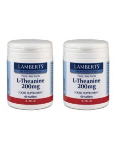 L-Teanin 200mg kosttillskott - 120 tabletter