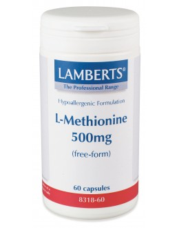 L-metionin 500mg (60 kapslar)