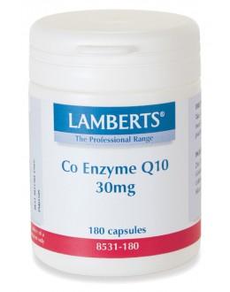 Naturligt coenzym Q10 30mg kosttillskott (coq10) - 60 kapslar