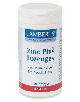 ZINK PLUS sugpastiller (med bipropolis extrakt) (100 pastiller)