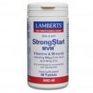 STRONGSTART MVM (Multivitamin kosttillskott vitaminer för gravida och ammande) (60 tabletter)