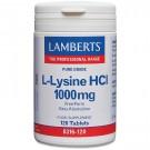 L-lysin hydroklorid 1000mg (120 tabletter)