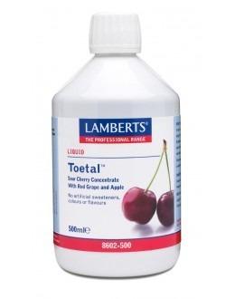 TOETAL (surkörsbär körsbär röda druvor antocyanin koncentrerat kosttillskott) (500ml)