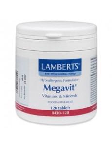 MEGAVIT (Multivitamin för idrottare) (120 tabletter)