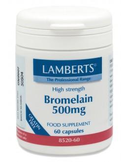 Bromelain 500mg (ananas proteolytiska proteas enzymer gdu) kosttillskott (60 tabletter)