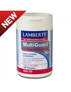 MULTIGUARD OSTEOADVANCE 50 + (vitaminer och mineraler för skelettet) (120 tabletter)