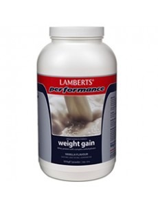 Lamberts Weight Gainer pulver 1816g - vaniljsmak (muskelgainer - muskeluppbyggnad - muskeluppbyggande)