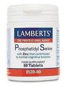 Lamberts Fosfatidylserin 100mg (Fosfatidyl serin kosttillskott)