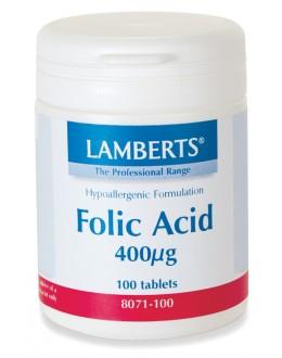 FOLSYRA (Folat) 400mcg (100 tabletter)