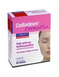 Colladeen® Derma Plus - Tillskott som tar bort ådernät, minskar rynkor samt ger solskydd SPF 15! (60 tabletter)