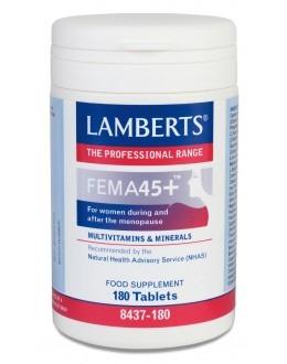 FEMA45 + (Multivitamin för medelålders kvinnor nära menopausen) (180 tabletter)