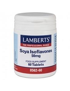 SOJA ISOFLAVONER 50mg (klimakteriet fytoöstrogen tillskott) (60 tabletter)