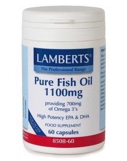 Ren Fiskolja 1100mg (Omega 3 fiskoljekapslar) (60 kapslar)
