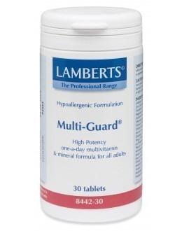 MULTI-GUARD (bästa mest kompletta multivitaminen för vuxna) (30 tabletter)