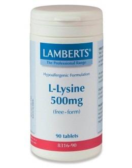 L-lysin hydroklorid 500mg (120 tabletter)