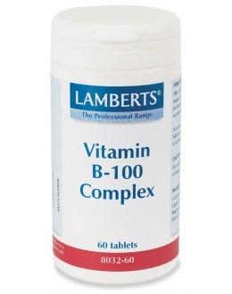 VITAMIN B-100 KOMPLEX kosttillskott (60 tabletter)