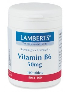 Vitamin B6 (pyridoxin) 50 mg tabletter (100 tabletter)