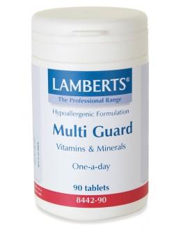 MULTI-GUARD (bästa mest kompletta multivitaminen för vuxna) (90 tabletter)