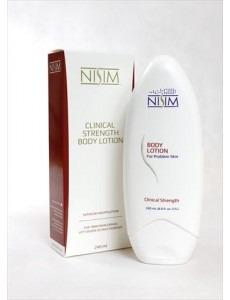 Nisim Body Lotion - 240 ml fuktgivande lotion för problemhud (för torr hud vid eksem, dermatit & psoriasis)