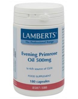 JÄTTENATTLJUSOLJA 500mg (omega 6 gammalinolensyra GLA nattljusolja) (180 kapslar)