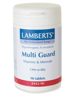 MULTI-GUARD (bästa mest kompletta multivitaminen för vuxna) (180 tabletter!)